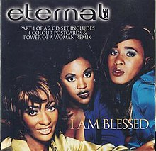 CD Single Cover for Eternal I Am Blessed CD1.jpg