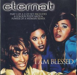 I Am Blessed - Image: CD Single Cover for Eternal I Am Blessed CD1