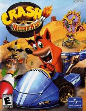 Crash Nitro Kart - North American box art
