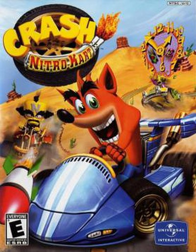 Picture of a game: Crash Nitro Kart