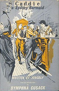 <i>Caddie, A Sydney Barmaid</i> 1953 novel