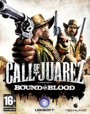 Call of Juarez: Bound in Blood - North American cover art