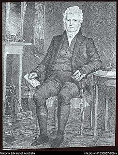 Robert Campbell (1769–1846) Merchant and politician in Sydney, born 1769