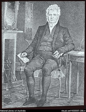Robert Campbell (1769–1846) - Image: Campbell of the wharf