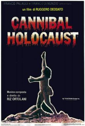 Cannibal Holocaust - Italian film poster