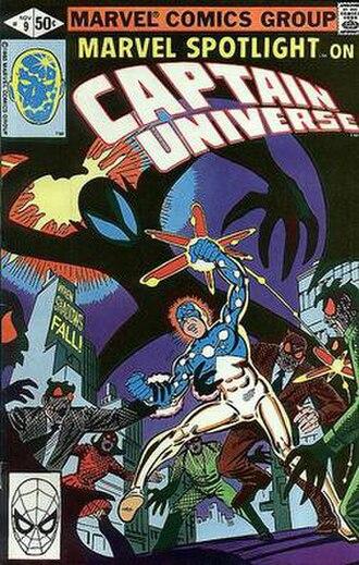 Captain Universe - Image: Captain Universe