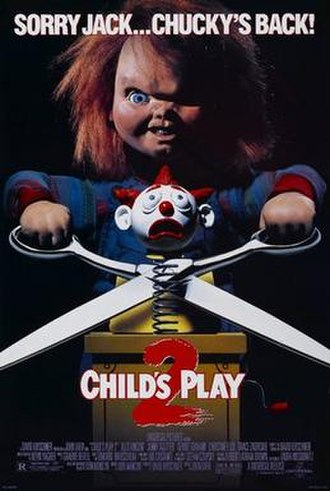 Child's Play 2 - Theatrical release poster