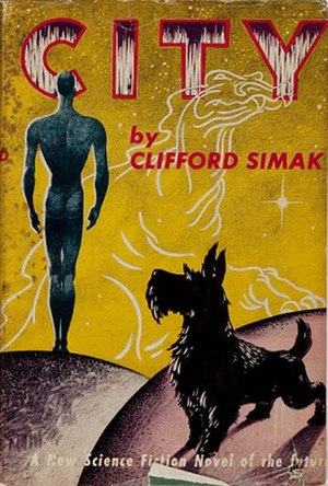 City (novel) - Cover of first edition (hardcover)