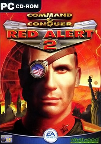 Command & Conquer: Red Alert 2 - On the cover — Hollywood actor Igor Jijikine