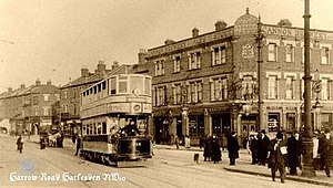 College Park, London - College Park Hotel, Harrow Road in 1906