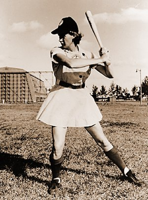 Connie Wisniewski -  Four-time  All-Star Team as pitcher and outfielder.