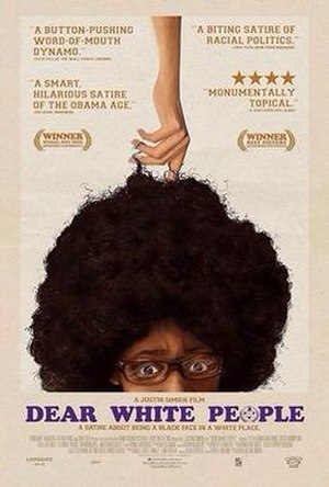 Dear White People - Theatrical release poster
