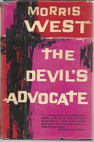 The Devil's Advocate (West novel) - First UK edition, third pressing