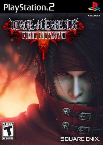 Dirge of Cerberus: Final Fantasy VII - Image: Dirgeofcerberususbox