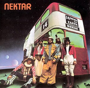 Down to Earth (Nektar album) - Image: Down to Earth (Nektar album) coverart