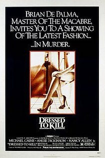 1980 erotic crime thriller film directed by Brian De Palma