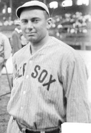Green Monster - Duffy Lewis was famous for his ability to handle the Fenway outfield