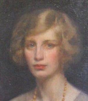 Elisabeth Inglis-Jones - Portrait of Inglis-Jones taken from a painting by Cecil Jameson