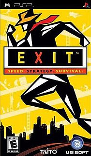 <i>Exit</i> (video game) video game