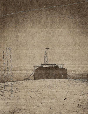 Colorado Springs Notes, 1899–1900 - Nikola Tesla's experimental station outside of Colorado Springs.