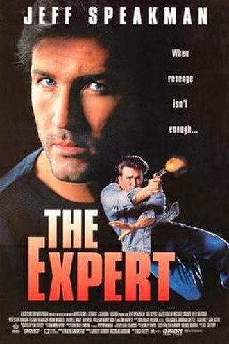 The Expert (1995 film) - Theatrical release poster