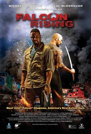 Falcon Rising - Theatrical release poster