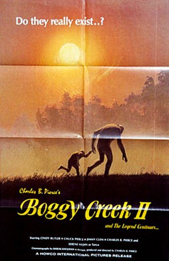 Boggy Creek II: And the Legend Continues - Theatrical release poster