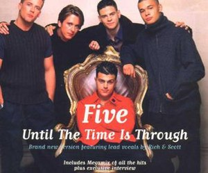 Until the Time Is Through - Image: Five until the time is through single cover