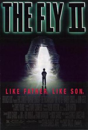 The Fly II - Theatrical release poster