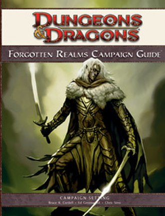 Forgotten Realms Campaign Guide - Image: Forgotten Realms Campaign Guide (D&D manual)