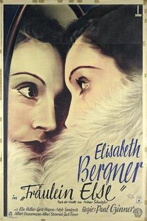 Fräulein Else (1929 film) - Image: Fräulein Else (1929 film)