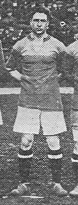 Fred Morley (footballer) - Morley while with Brentford in 1919.
