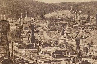 The Petroleum Trail - Image: Galicia 1911