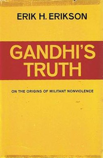 Gandhi's Truth - Cover of the first edition