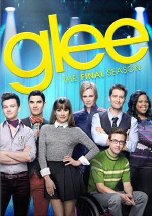 Glee (season 6) - Promotional poster and home media cover art