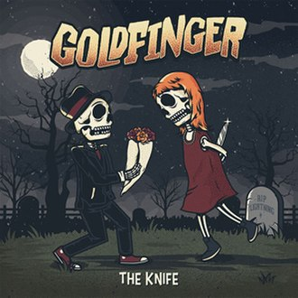 The Knife (Goldfinger album) - Image: Goldfinger The Knife