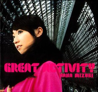 <i>Great Activity</i> album by Nana Mizuki