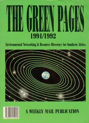 Environmental movement in South Africa -  Green Pages