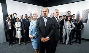 """The Apprentice (UK series one) - Image: Group shot of the candidates from Series 1 of """"The Apprentice"""""""
