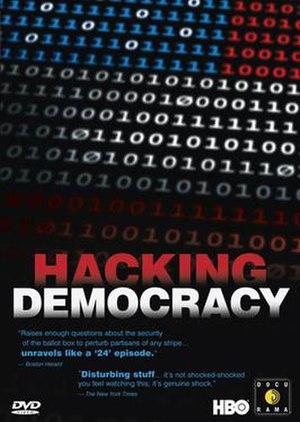 Hacking Democracy - Image: Hackingdemocracydvdc over