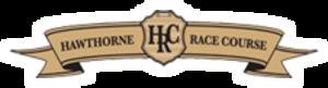 Hawthorne Race Course - Image: Hawthorne Race Course Logo