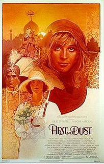 <i>Heat and Dust</i> (film) 1983 film by James Ivory