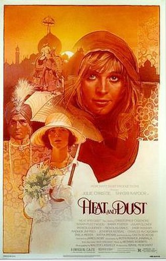 Heat and Dust (film) - Theatrical release poster by Drew Struzan