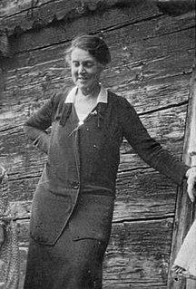 Helen Storrow Girl Scouting leader