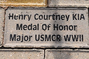 Henry A. Courtney Jr. - Image: Henry Courtney Brick