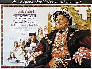 Henry VIII and His Six Wives - Image: Henry VIII and His Six Wives poster