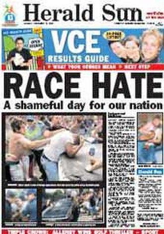 Herald Sun - Image: Herald Sun front page 12 12 2005