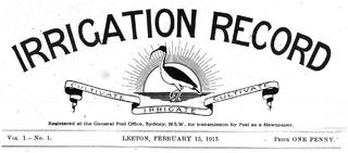 <i>Irrigation Record</i>