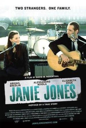 Janie Jones (film) - Theatrical release poster