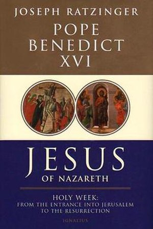 Jesus of Nazareth: Holy Week - First edition book cover